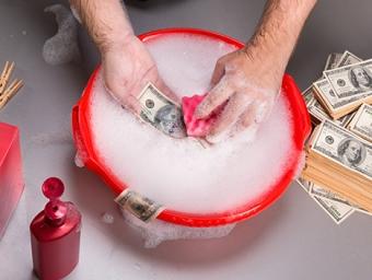 Статья за отмывание денег рф