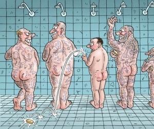 Почему нельзя ронять мыло в тюрьме?