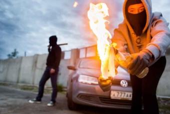 Умышленный поджог: статья 167 УК РФ